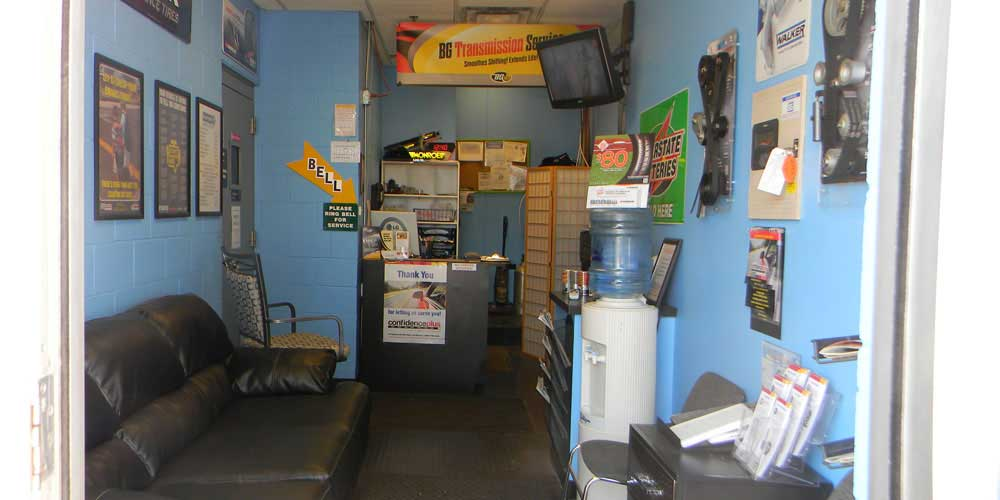 Automotive Shop Office